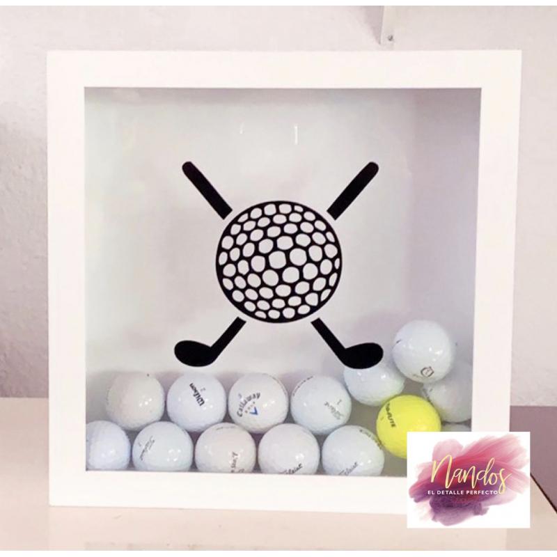 Palos y bola de golf