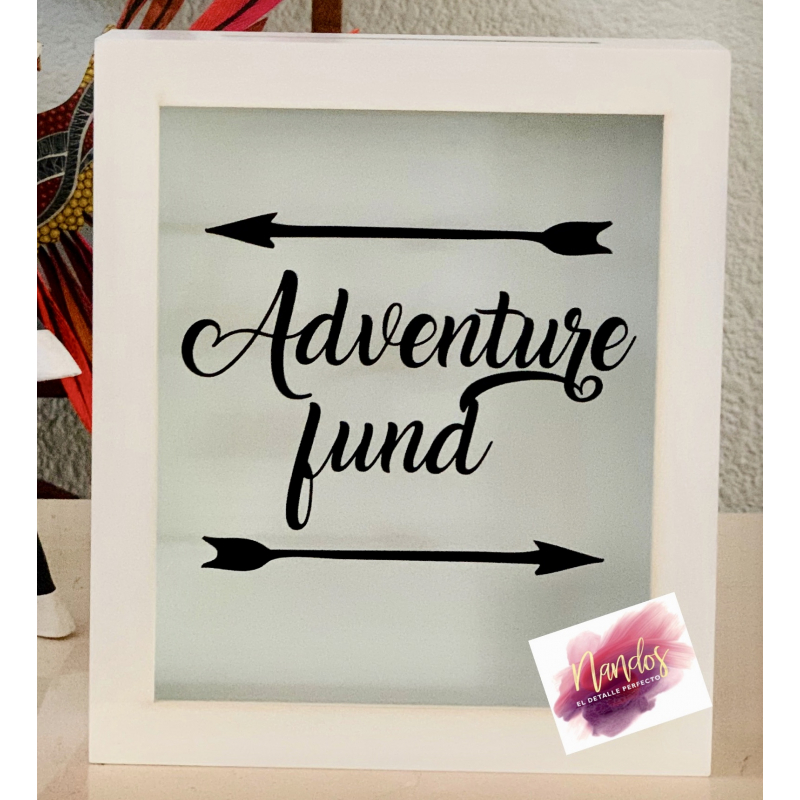 Alcancía Adventure fund flechas