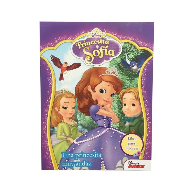 Libro 16 pág colorear Princesa Sofia - Nandos el Detalle Perfecto ...