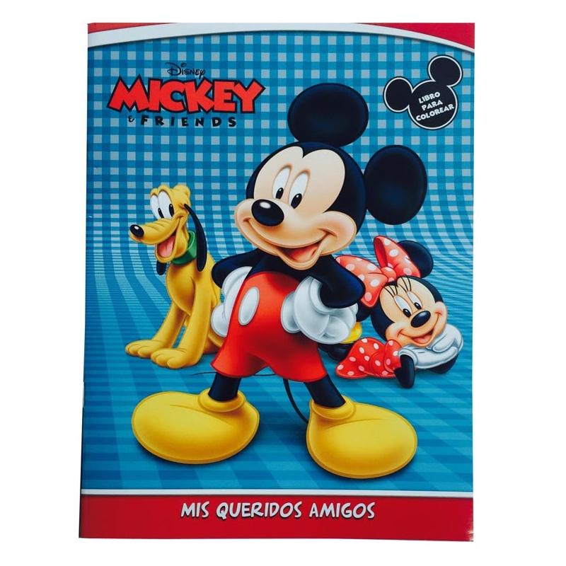 Libro 16 pág colorear Mickey Mouse - Nandos el Detalle Perfecto ...